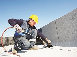 industrial commercial flat roof repair