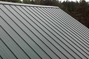 steep slope metal roofs