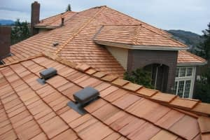 wood shake shingles commercial roofing