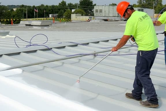 commercial and industrial roof coating kansas city
